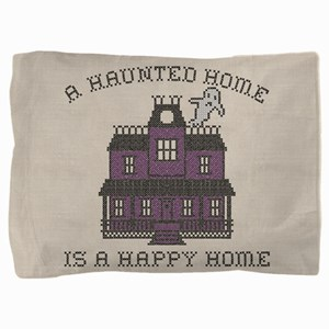A Haunted Home A Happy Home Pillow Sham