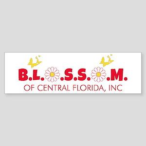 Blossom Logo Bumper Sticker