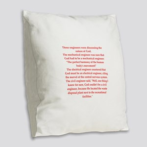 45 Burlap Throw Pillow