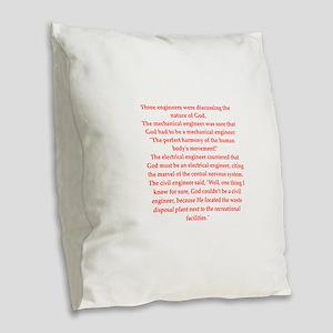 45 Burlap Throw Pillow