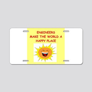 ENGINEERS Aluminum License Plate