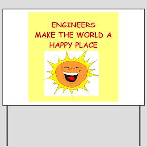 ENGINEERS Yard Sign