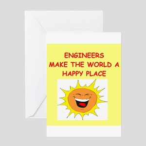 ENGINEERS Greeting Cards