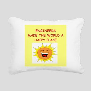 ENGINEERS Rectangular Canvas Pillow