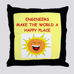 ENGINEERS Throw Pillow