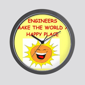 ENGINEERS Wall Clock