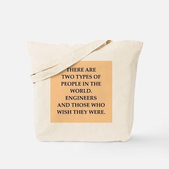 ENGINEERS Tote Bag