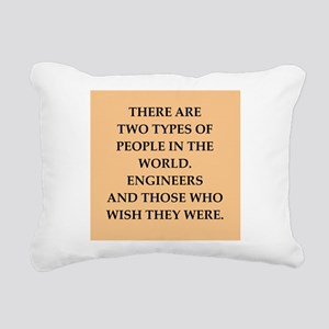 ENGINEERS Rectangular Canvas Pillow