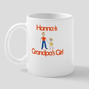 Hanna is Grandpa's Girl Mug