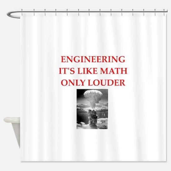 EBGINEER Shower Curtain