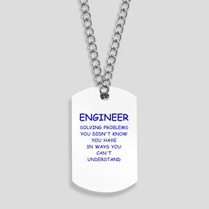ENGINEER Dog Tags