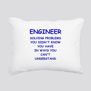 ENGINEER Rectangular Canvas Pillow