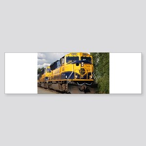 Alaska Railroad engine locomotive Bumper Sticker