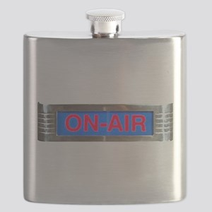 On-Air Broadcasting Sign Flask