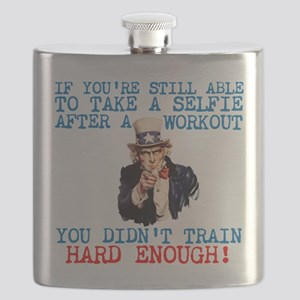 SELFIE AFTER A WORKOUT Flask