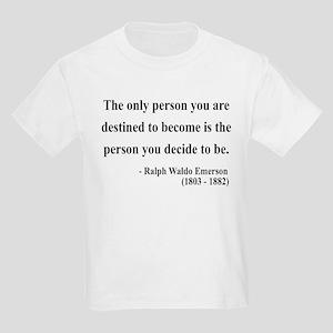 Ralph Waldo Emerson 2 Kids Light T-Shirt
