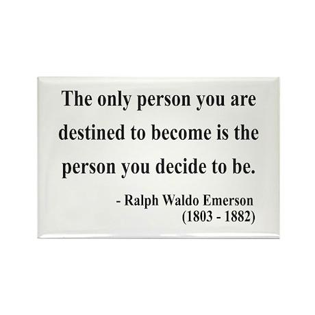 Ralph Waldo Emerson 2 Rectangle Magnet (10 pack)
