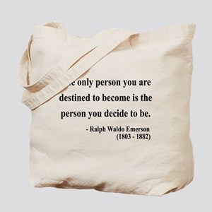 Ralph Waldo Emerson 2 Tote Bag