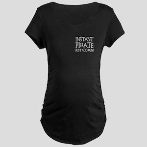 JUST ADD RUM Maternity Dark T-Shirt