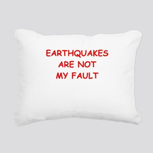 GEOLOGY Rectangular Canvas Pillow