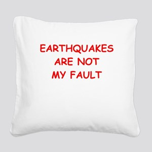 GEOLOGY Square Canvas Pillow