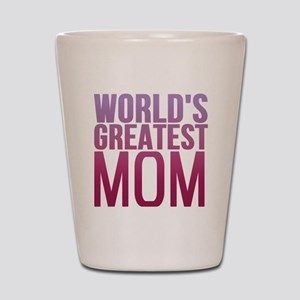 Worlds Best Mom Shot Glass