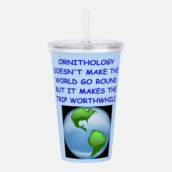 ORNITHOLOGY Acrylic Double-wall Tumbler