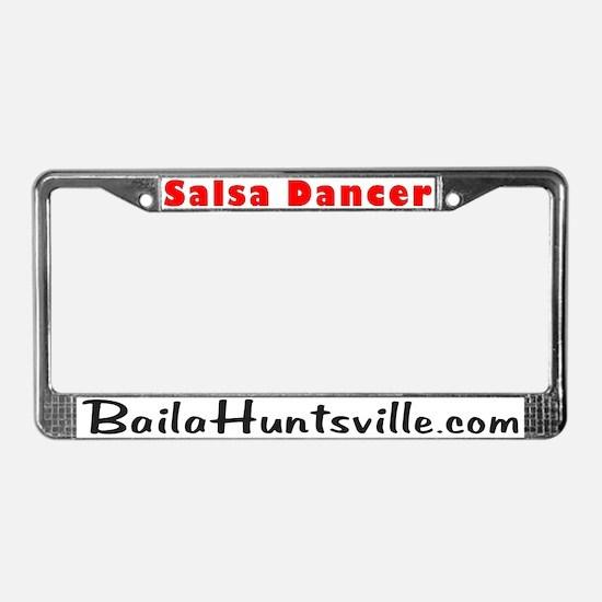 Salsa License Plate Frame