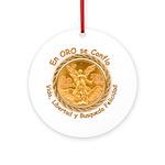 Mex Oro Ornament (Round)