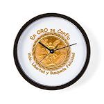 Mex Oro Wall Clock