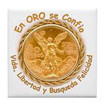 Mex Oro Tile Coaster