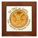Mex Oro Framed Tile