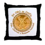 Mex Oro Throw Pillow