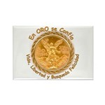 Mex Oro Rectangle Magnet (10 pack)