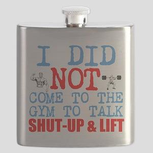 Shut Up Lift Flask