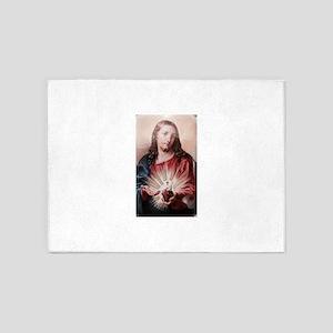 Jesus 5'x7'Area Rug