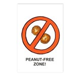 """Peanut-Free Zone"" Mini Posters (Package"