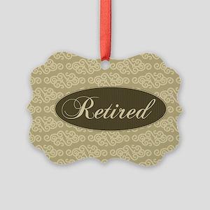 Retired Picture Ornament