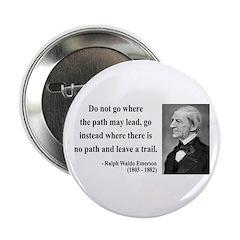 "Ralph Waldo Emerson 3 2.25"" Button (100 pack)"