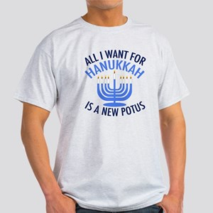 Hanukkah Anti Trump Light T-Shirt