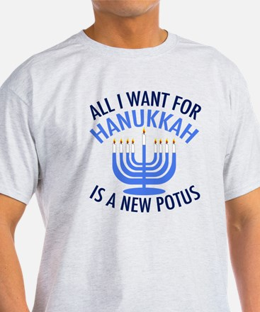 Hanukkah Anti Trump T-Shirt