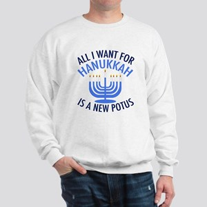 Hanukkah Anti Trump Sweatshirt