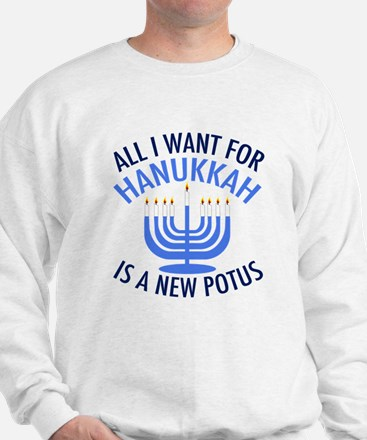 Hanukkah Anti Trump Jumper