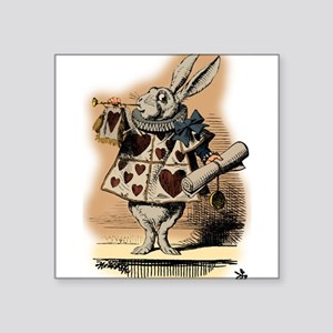 Alice in Worderland Rabbit Trumpet Sticker