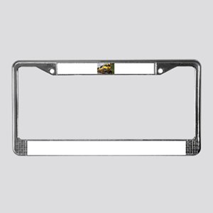 Alaska Railroad engine locomot License Plate Frame