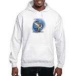 SP_BOOKCOVERLOGO_BLUEFLAME Hooded Sweatshirt