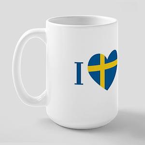 Swedish Literature Large Mug
