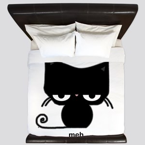meh cat King Duvet