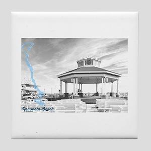 Rehoboth Beach - Delaware. Tile Coaster