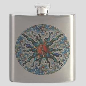 Peace Sun (j) Flask